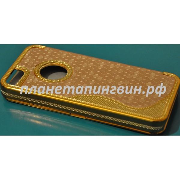 Золотой чехол для Iphone 5