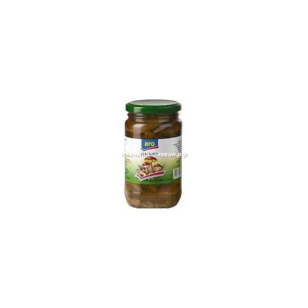 340г грибы марин маслята aro